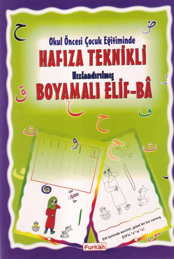 Okul Öncesi Çocuk Eğitiminde Hafıza Teknikli Hızlandırılmış Boyamalı Elif Ba-0.0