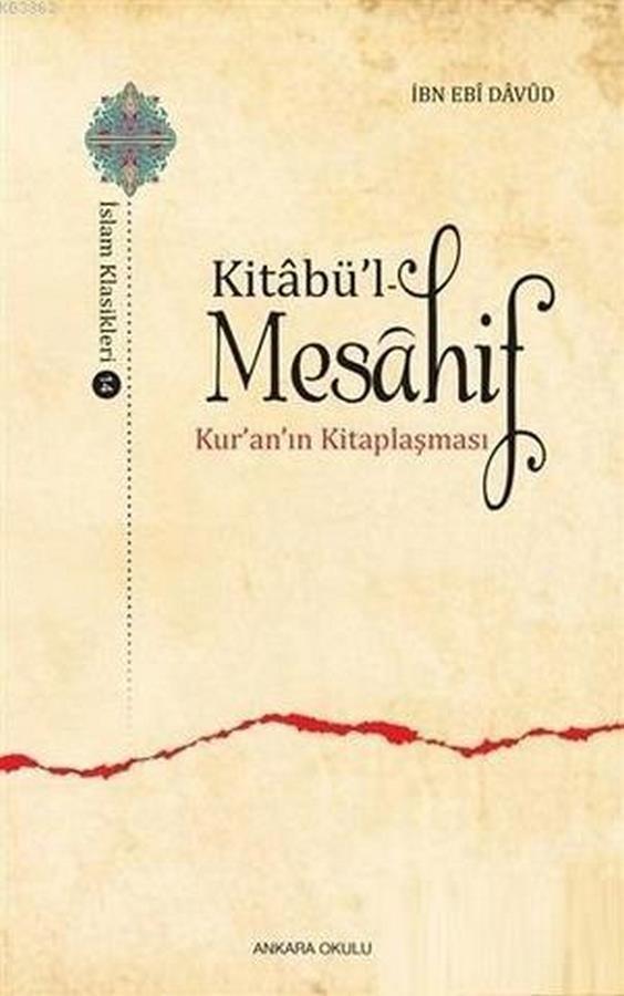 Kitabül  Mesahif Kuranın Kitaplaşması-0.0