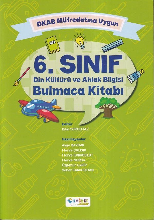DKAB Müfredatına Uygun 6. Sınıf Din Kültürü ve Ahlak Bilgisi Bulmaca Kitabı-