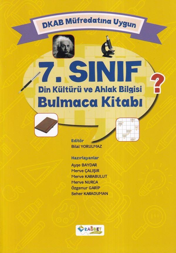 DKAB Müfredatına Uygun 7. Sınıf Din Kültürü ve Ahlak Bilgisi Bulmaca Kitabı-