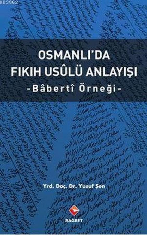 Osmanlıda Fıkıh Usulü Anlayışı-0.0